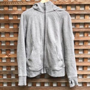 Lululemon Scuba Light Cotton Fleece Hoodie Grey 10